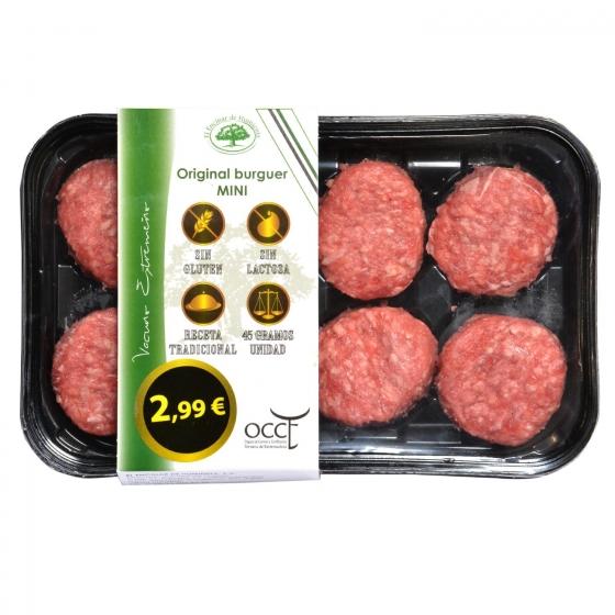 Hamburguesa de Vacuno Burger Meat Mini El Encinar de Humienta (8x45) 360 g - 1