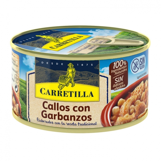 Callos con garbanzos Carretilla 380 g.