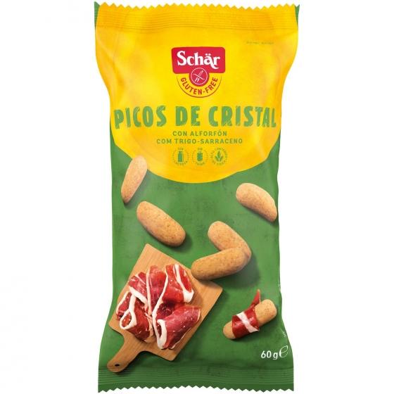 Picos Schär sin gluten y sin lactosa 60 g.