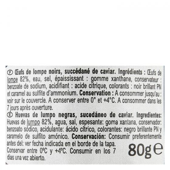 Huevas de lumpo Carrefour 80 g. - 3