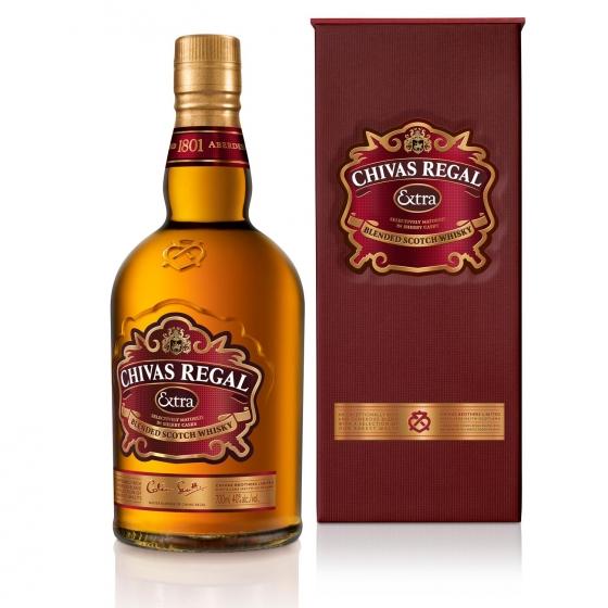 Whisky Chivas Regal escocés extra 70 cl. - 3