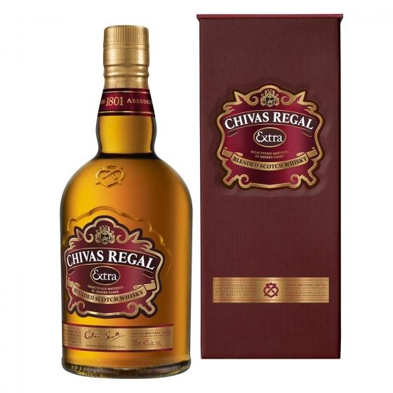 Whisky Chivas Regal escocés extra 70 cl. - 4