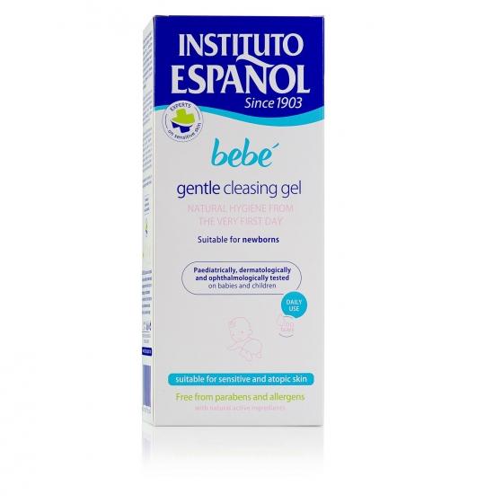 Gel de baño sin jabón recién nacido pieles sensible y atópicas Instituto Español 500 ml. - 4