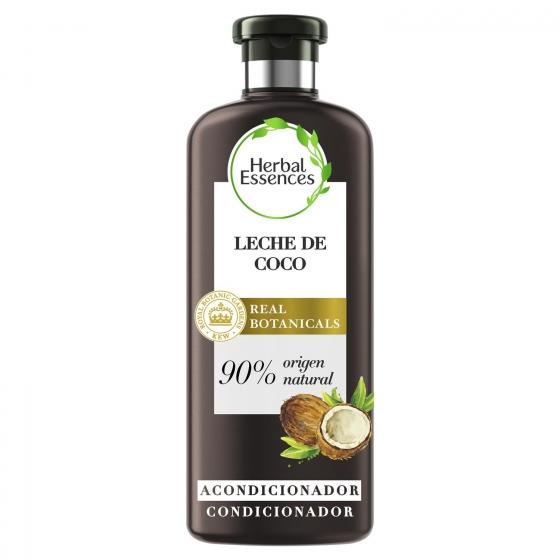 Acondicionador Hidrata Leche de coco bío:renew Herbal Essences 400 ml.