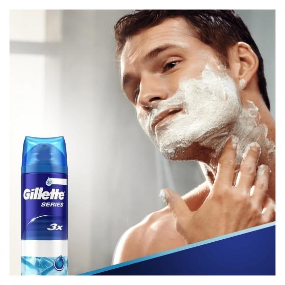 Gel de afeitar Sensitive cool Gillette 200 ml. - 3