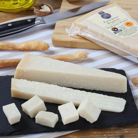 Queso parmigiano reggiano D.O.P. 30 meses curación Terre D´Italia 250 g - 3