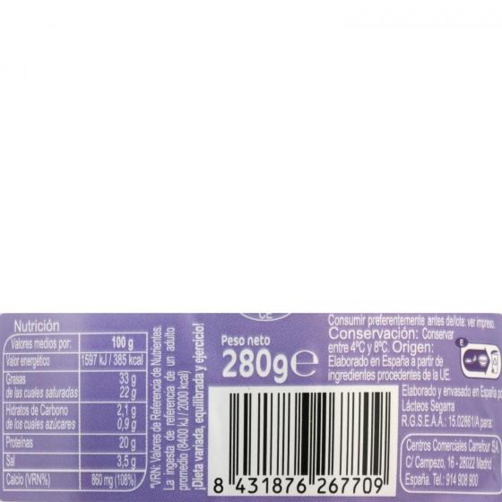 Queso de cabra Carrefour sin lactosa 280 g - 1