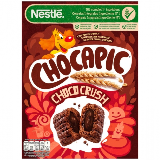 Cereales ChocoCrush Chocapic Nestlé 410 g.
