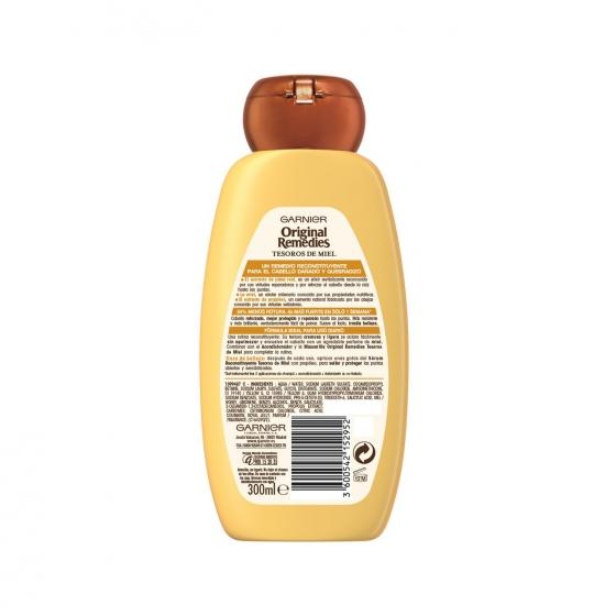 Champú reconstituyente Tesoros de Miel Original Remedies 300 ml. - 1