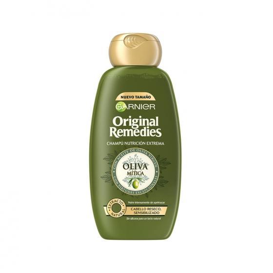 Champú nutritivo con aceite de oliva virgen Original Remedies 300 ml.
