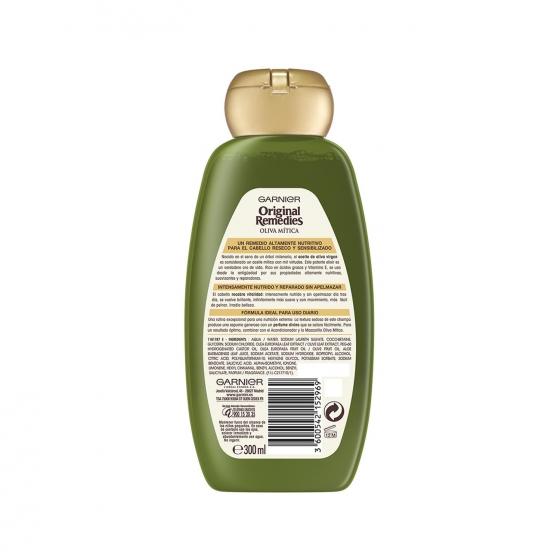 Champú nutritivo con aceite de oliva virgen Original Remedies 300 ml. - 1