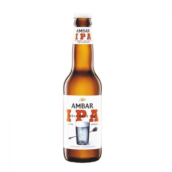 Cerveza Ambar Indian Pale Ale Botella 33 Cl Carrefour