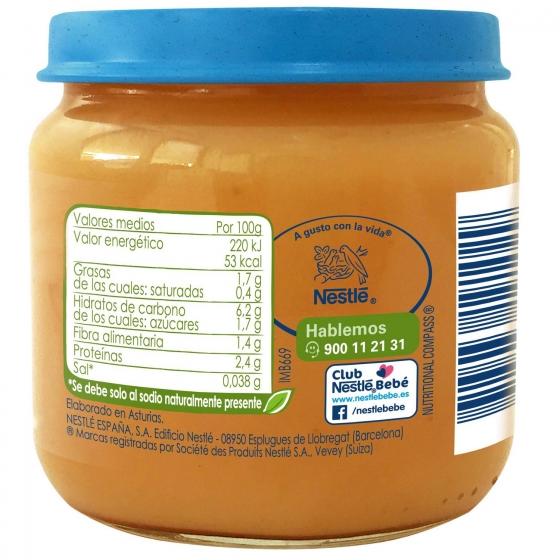 Tarrito de zanahoria y tomate con pavo desde 6 meses sin azúcar añadido ecológico Nestlé Naturnes sin gluten 200 g. - 5