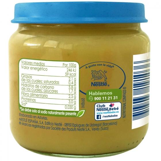 Tarrito de guisantes con patata y pollo desde 6 meses sin azúcar añadido ecológico Nestlé Naturnes sin gluten 200 g. - 5