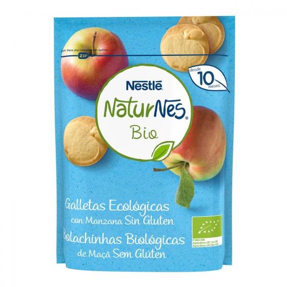 Galletas infantiles desde 8-10 meses con miel ecológicas ecológicas Nestlé Naturnes sin gluten 150 g.