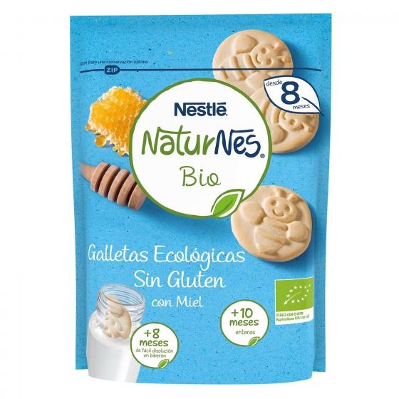 Galletas infantiles desde 8-10 meses con miel ecológicas ecológicas Nestlé Naturnes sin gluten 150 g. - 4