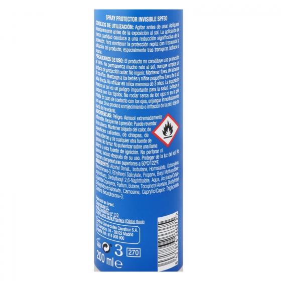 Spray solar sport SPF 30 Les Cosmétiques Sun Ultimate 200 ml. - 1
