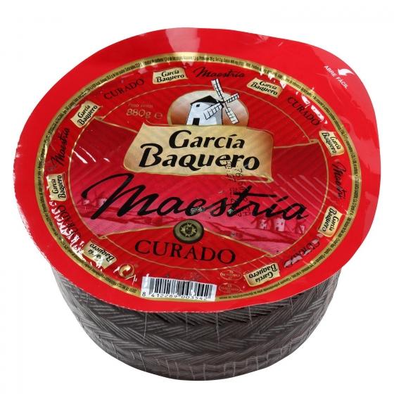 Queso curado mezcla mini al vacio García Baquero pieza de 880 g - 1