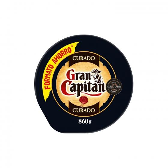 Queso mezcla curado Gran Capitán pieza de 860 g
