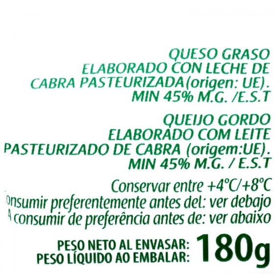 Queso rulo de cabra Sant Maure 180 g - 3