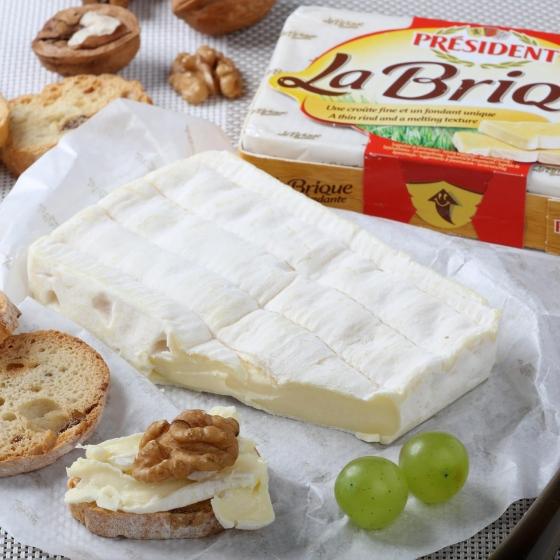 Queso camembert La Brique de President 200 g - 1