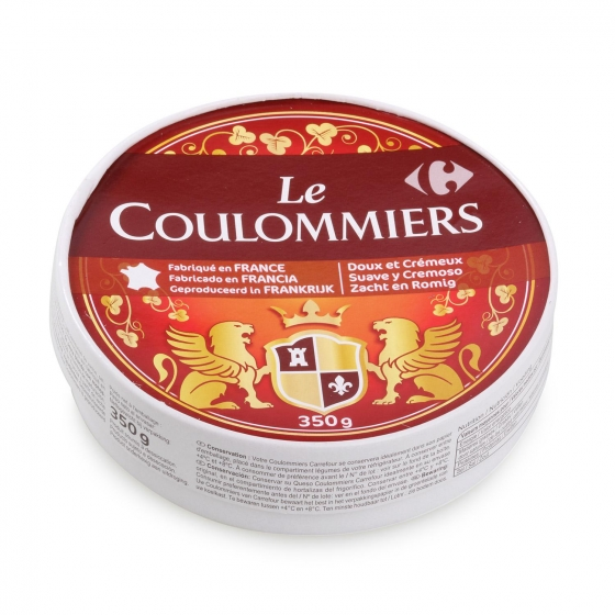 Queso brie coulomiers Carrefour 350 g