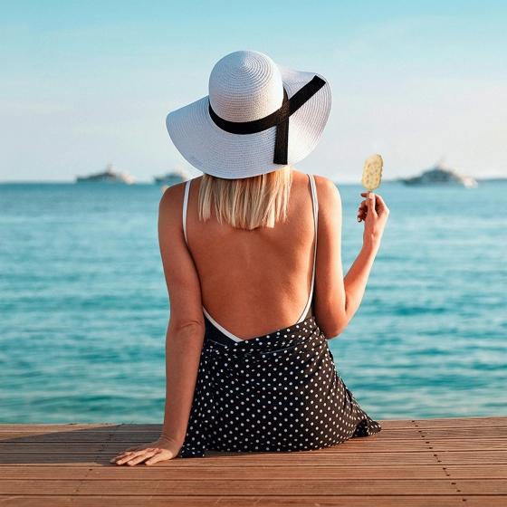 Mini bombón helado White, Almond, White Magnum sin gluten 6 ud. - 1
