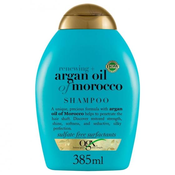 Champú aceite de argán de marruecos OGX 385 ml.