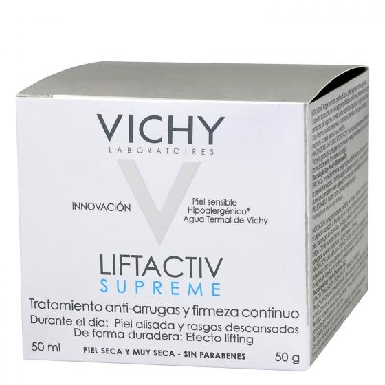 Crema antiarrugas Liftactiv Supreme para piel seca Vichy 50 ml.