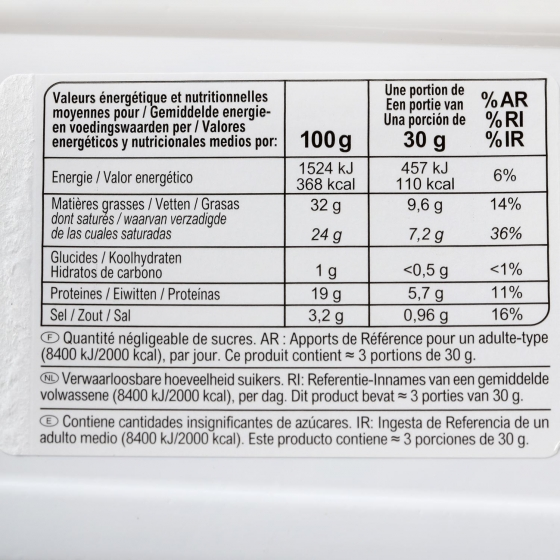 Queso Roquefort  D.O.P Carrefour cuña 100 g - 3