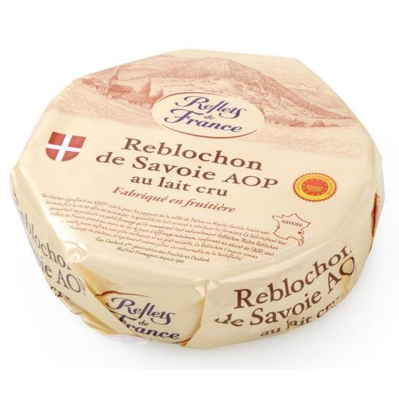 Queso reblochon de savoie A.O.P. leche cruda Reflets de France 400 g