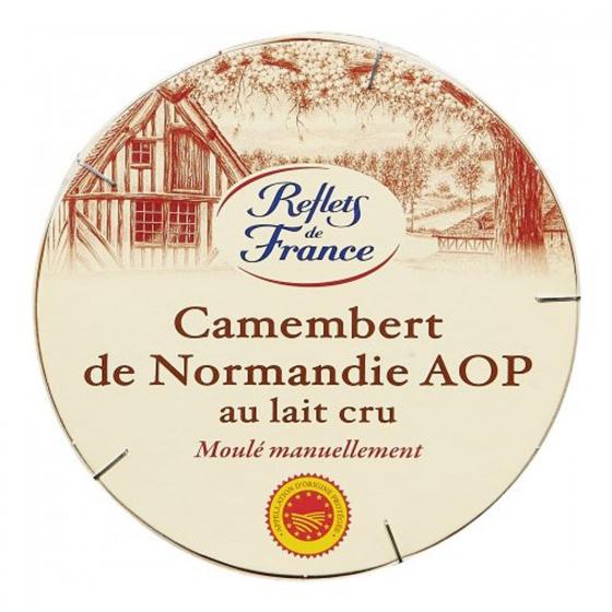 Queso camembert de Normandie  Reflets de France  pieza 250 g