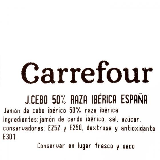 Centro jamón cebo ibérico 50% raza ibérica Emb.España al corte 150 g aprox - 3