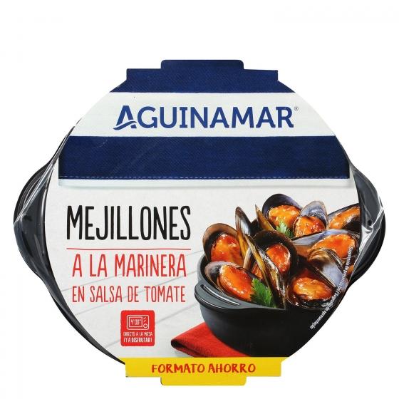 Mejillón en salsa de tomate Aguinamar 900 g - 1