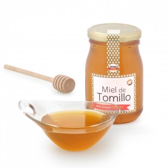 Miel artesana de tomillo monofloral Primo Mendoza 500 g