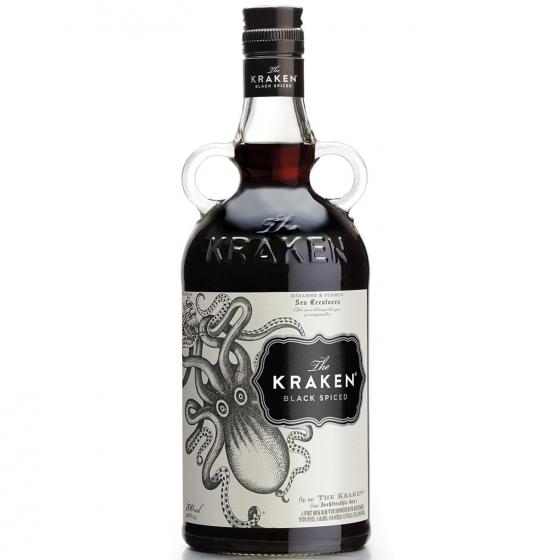 Ron Kraken black spiced 70 cl.