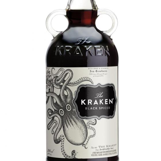 Ron Kraken black spiced 70 cl. - 1