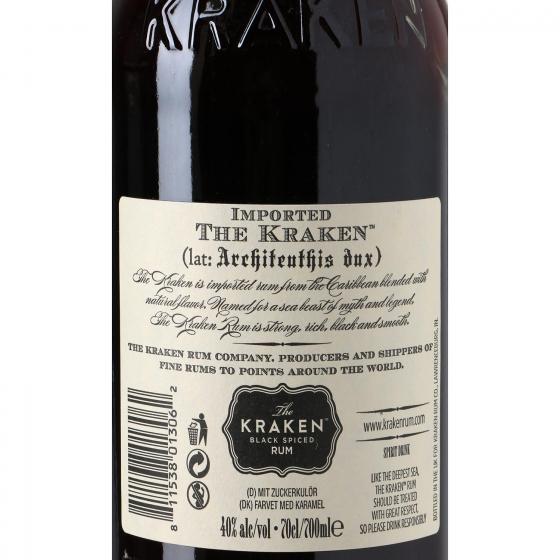 Ron Kraken black spiced 70 cl. - 3