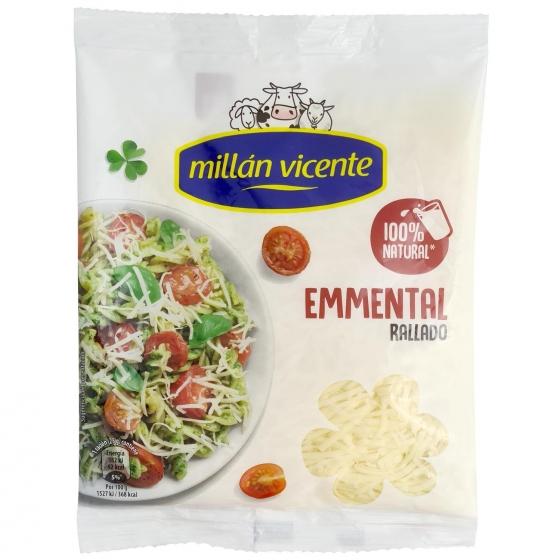 Queso rallado emmental Millan Vicente 100 g.