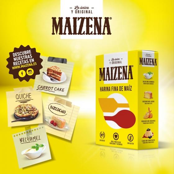 Harina de maíz fina Maizena 400 g. - 4