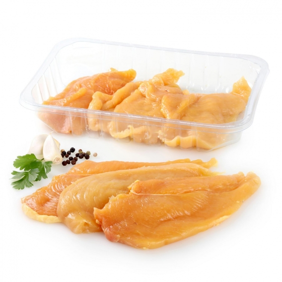 Pechuga de Pollo Certificado Fileteado Carrefour 500 g aprox