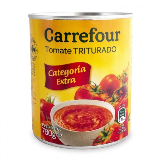 Tomate triturado Carrefour 780 g.