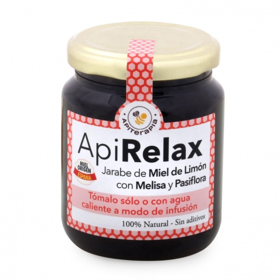 Jarabe de miel casero: miel de bosque, propóleo, eucaliptus, limón, Primo Mendoza 250 g - 1