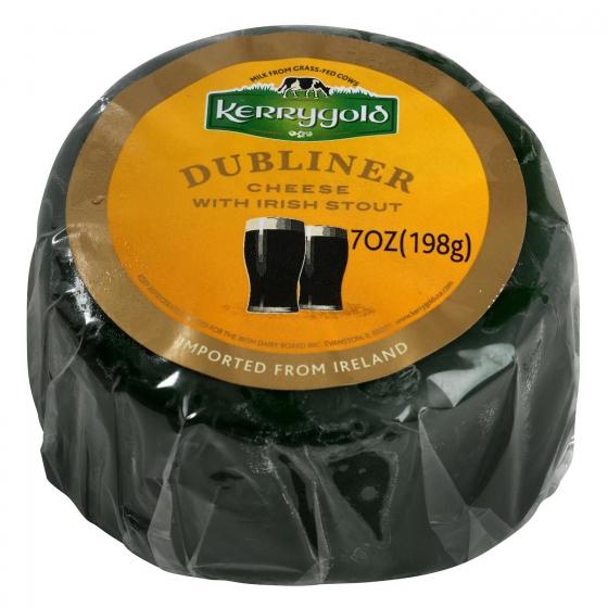 Queso cheddar blanco curado dubliner a la cerveza negra Kerrygold 200 g - 3