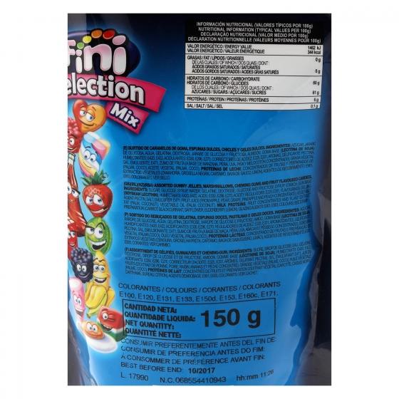 Caramelos de goma Selection Mix Fini sin gluten 150 g. - 1