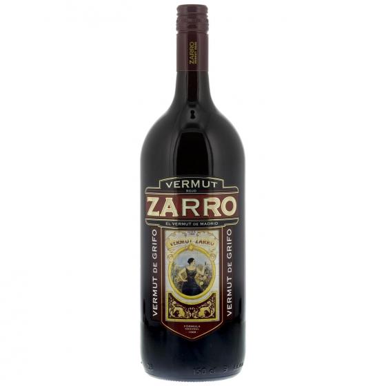 Vermut Zarro rojo de grifo 1,5 l.