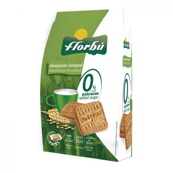 Galletas con fibra sin azúcares Florbú 350 g.