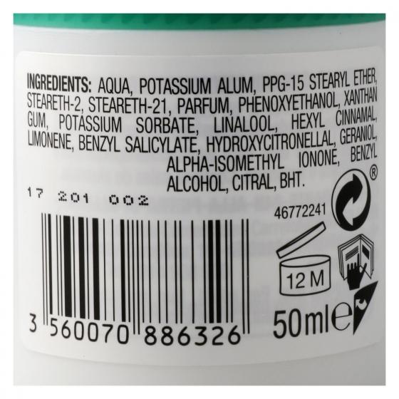 Desodorante roll-on 24h para piel sensible sin alcohol Carrefour 50 ml. - 1