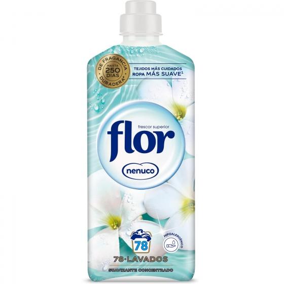 Suavizante concentrado Nenuco Flor 64 lavados.