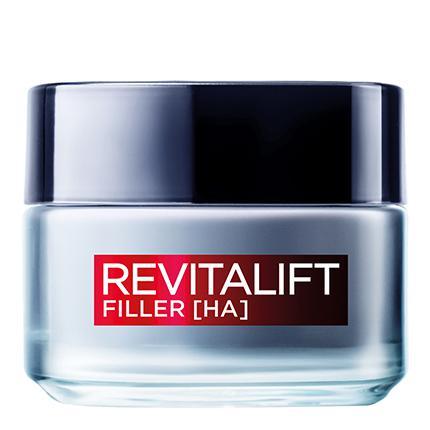 Crema de día con ácido hialurónico Revitalift Filler L'Oréal 50 ml.